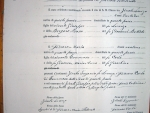 Partida de casamiento Zinola-Ferraro 1868 - Roccavignale, Cuneo